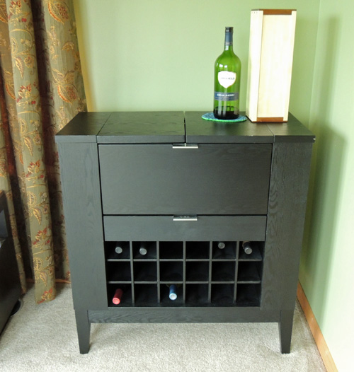 2) BAR. Okay, Truthfully, Iu0027ve Never Know The Hubster To Ever Go And Just  Fix Himself A Drink. Itu0027s More Of A Liquor Storage Cabinet In Our House, ...