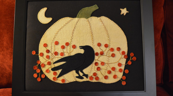Pumpkin crow berries