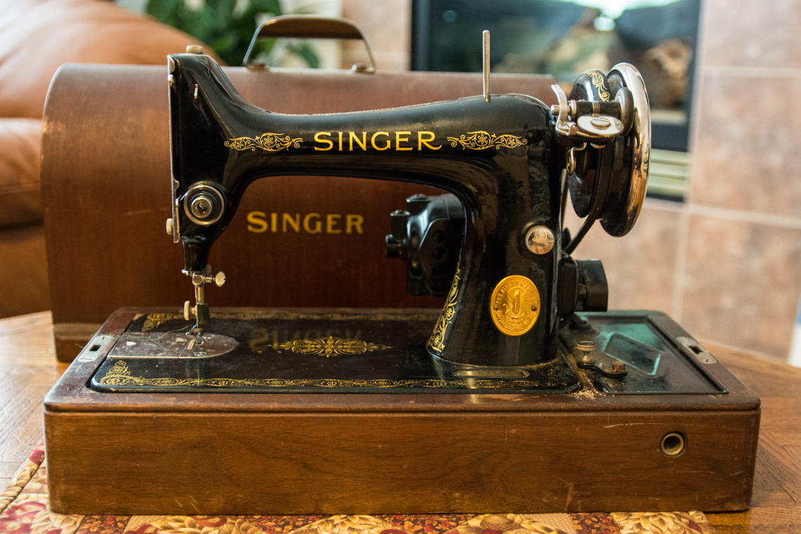 Singer 99 Shirley front